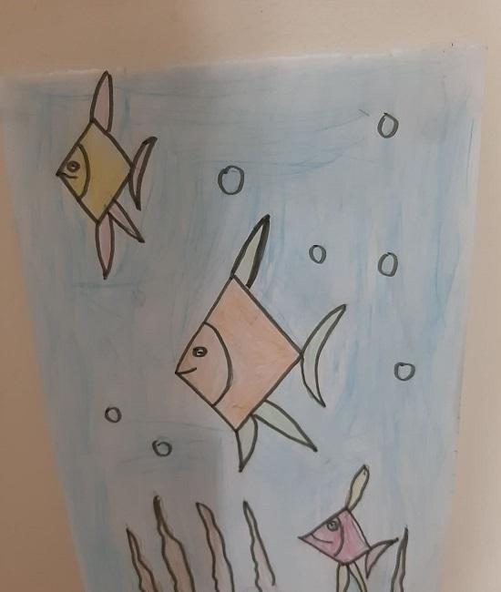 رسومات فيروز فى المعرض (1)