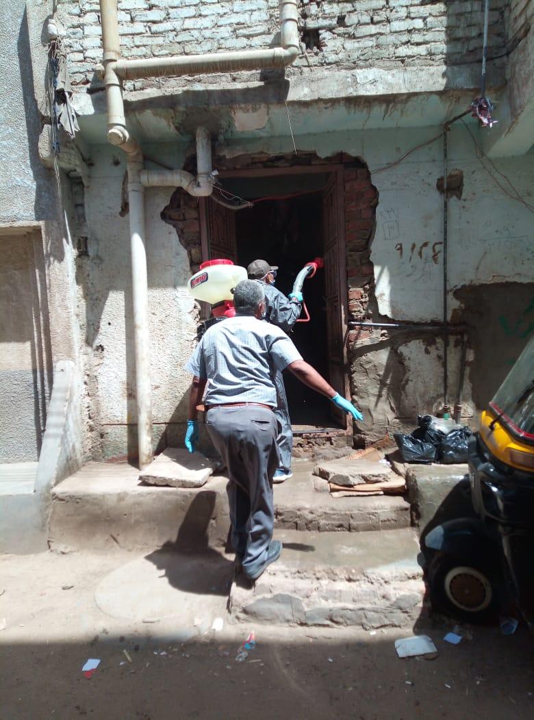 حملات تطهير شوارع كوم أمبو  (2)