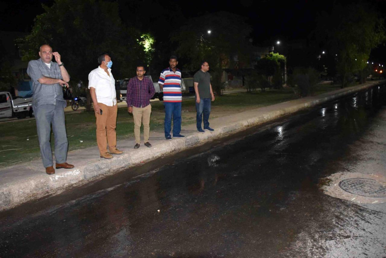 1 سكرتير محافظة الأقصر يقود جولة ميدانية لمتابعة النظافة والإشغالات
