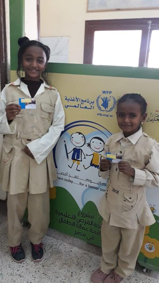 مشروع كروت التغذية المدرسية الجديد بأسوان (2)