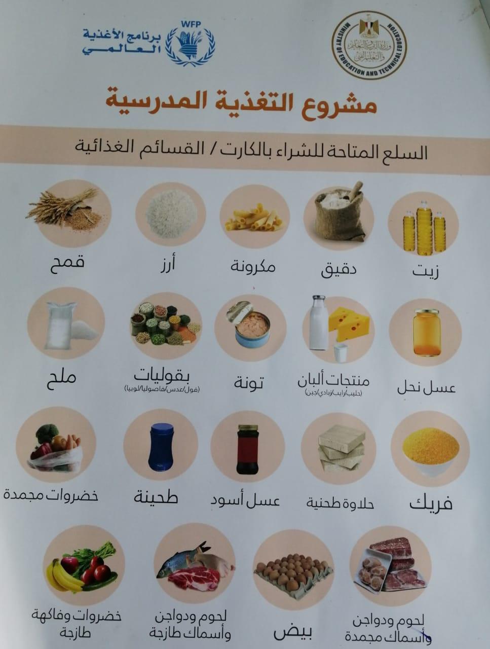 مشروع التغذية المدرسية