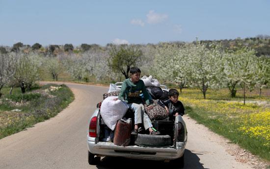 عودة الأطفال مع أسرهم إلى إدلب
