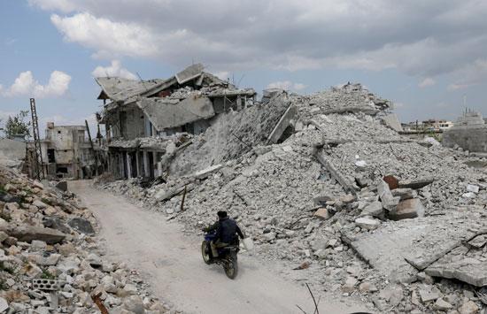 العودة إلى ادلب رغم حطام المنازل