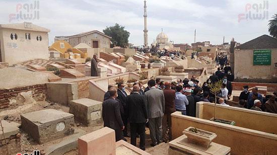 دفن-الشهيد-محمد-الحوفى