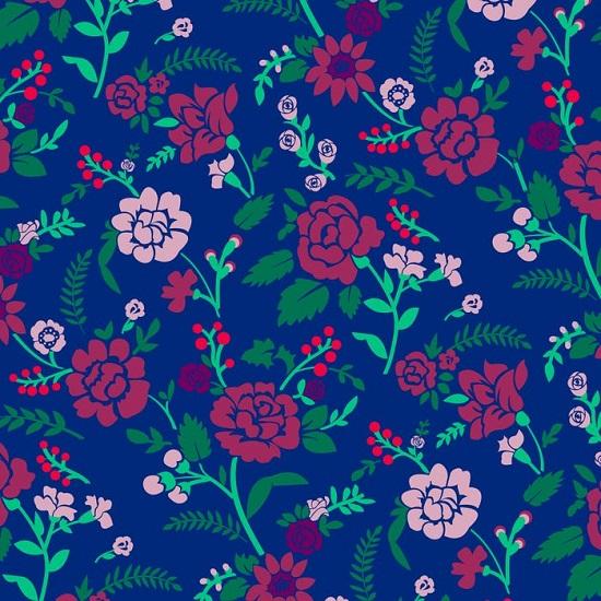 يمكنك اكتشاف تلوين مخبأة في خلفية الأزهار؟