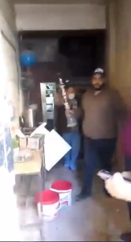 تحويل منزل إلى مقهى بامبابة (3)