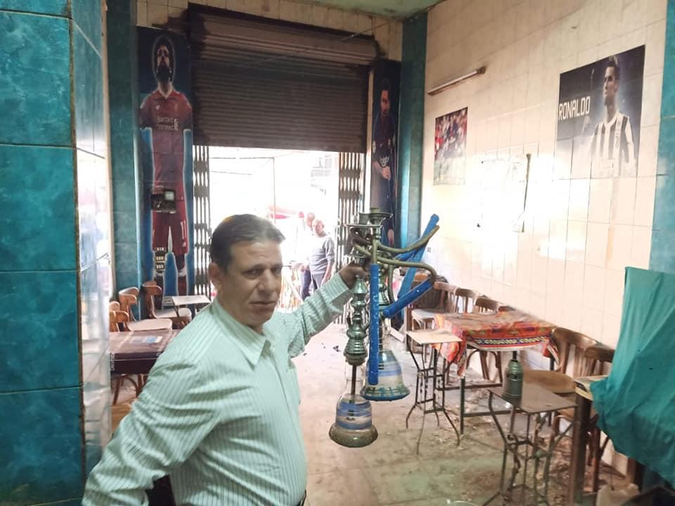 مقهى بالمعتمدية يعمل وسط الحجر الصحى (2)