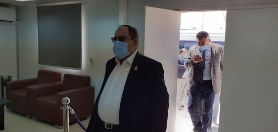 رئيس مدينة العلمين مع لجنة الإسكان بمجلس النواب (5)