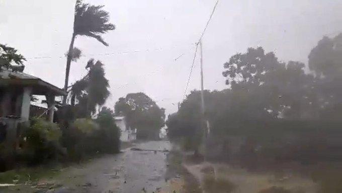 اعصار هارولد فى المحيط