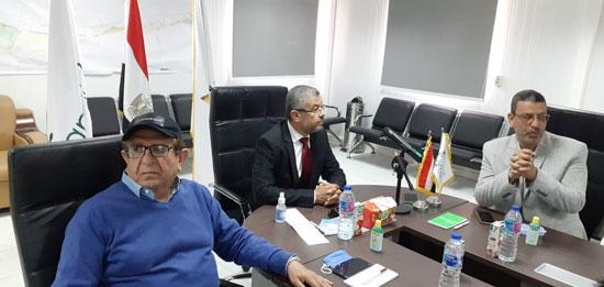 رئيس مدينة العلمين مع لجنة الإسكان بمجلس النواب (3)