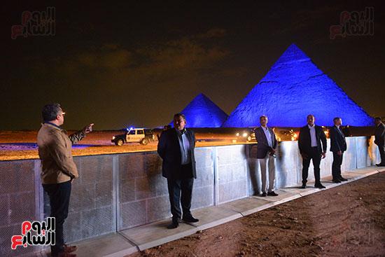 الاهرامات الثلاثة تحتفل بيوم التراث