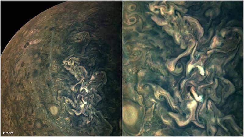 صور كوكب المشترى