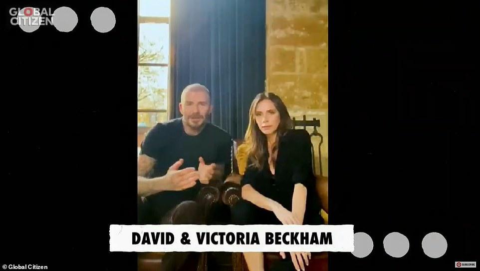 فيكتوريا و ديفيد