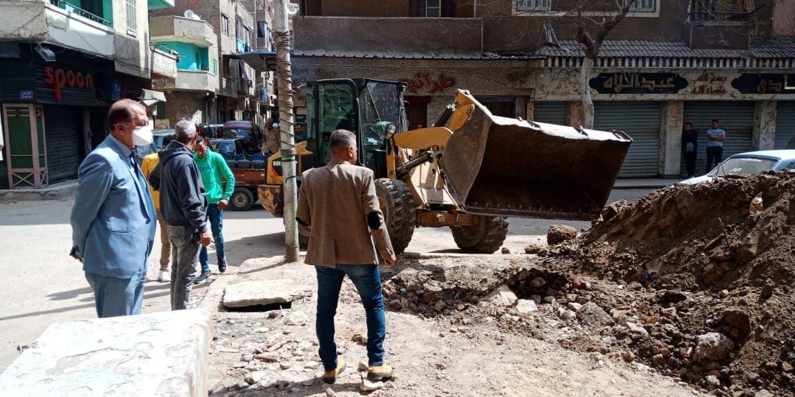 إزالة مخالفات بناء بالقاهرة (4)