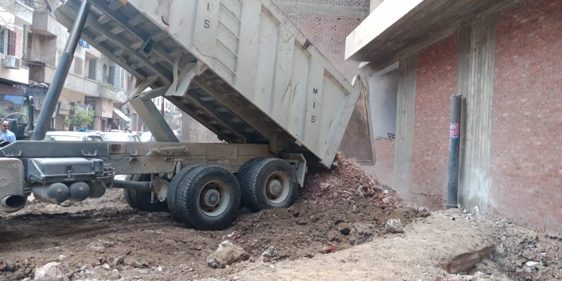 إزالة مخالفات بناء بالقاهرة (3)