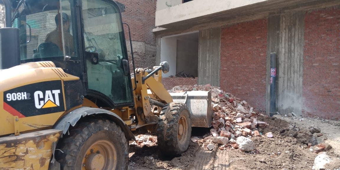 إزالة مخالفات بناء بالقاهرة (2)
