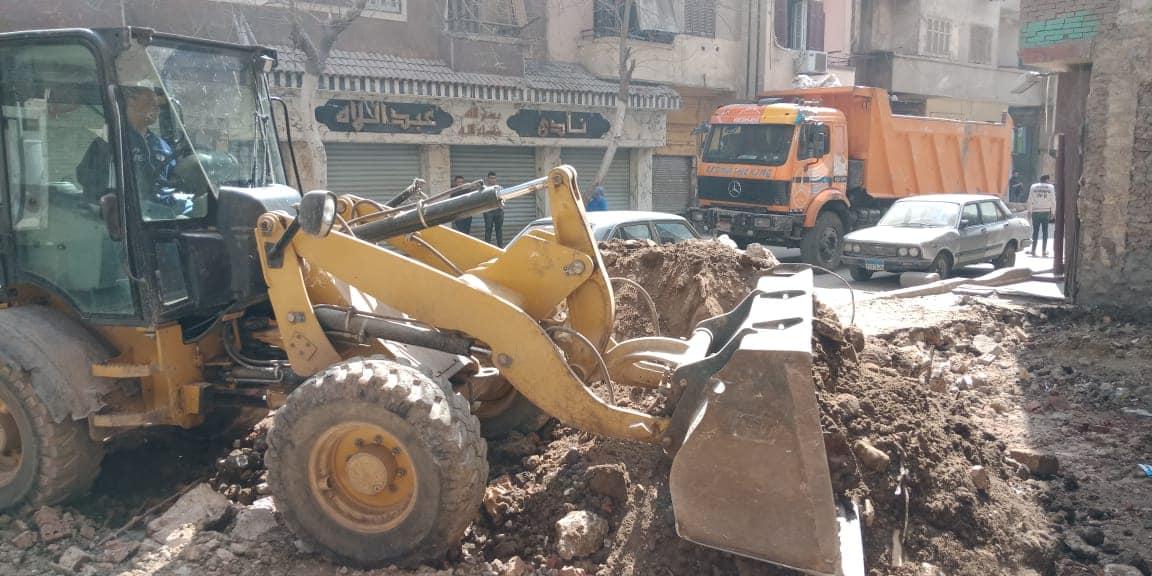 إزالة مخالفات بناء بالقاهرة (1)