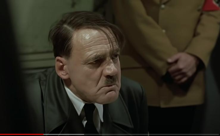 برونو جانز في شخصية هتلر