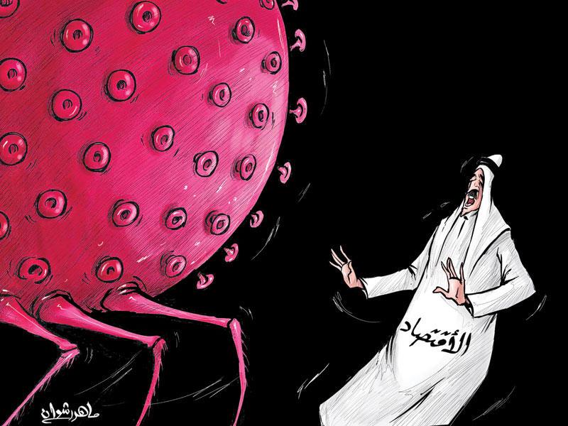 فيروس كورونا يهدد الاقتصاد