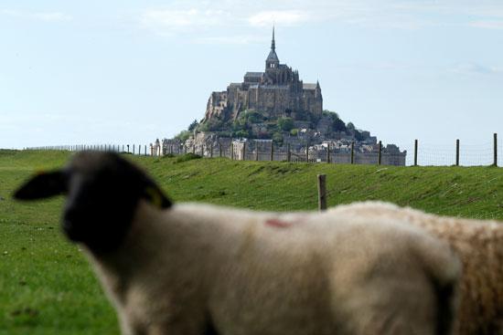 جبل القديس ميشيل أحد أبرز المناطق السياحية فى فرنسا