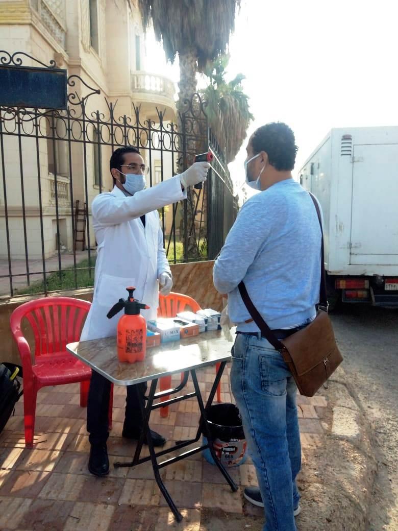 إجراءات احترازية بمدينة الأنتاج الإعلامى (5)