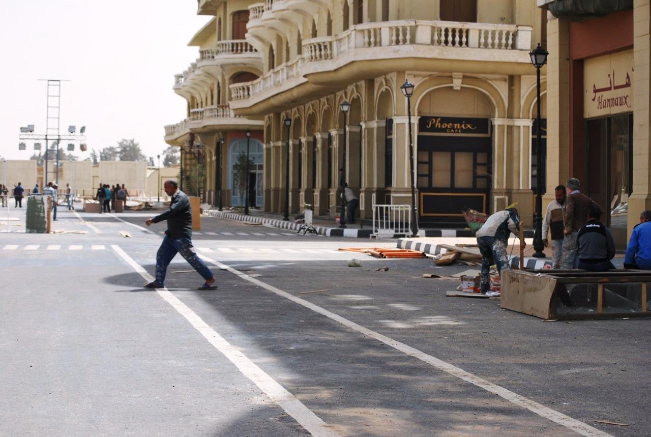 إجراءات احترازية بمدينة الأنتاج الإعلامى (13)