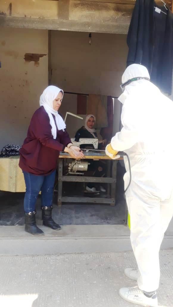 إجراءات احترازية بمدينة الأنتاج الإعلامى (11)
