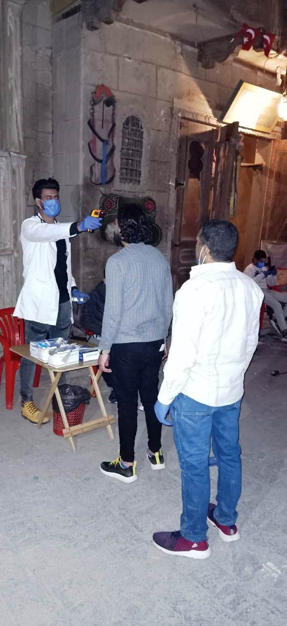 إجراءات احترازية بمدينة الأنتاج الإعلامى (8)