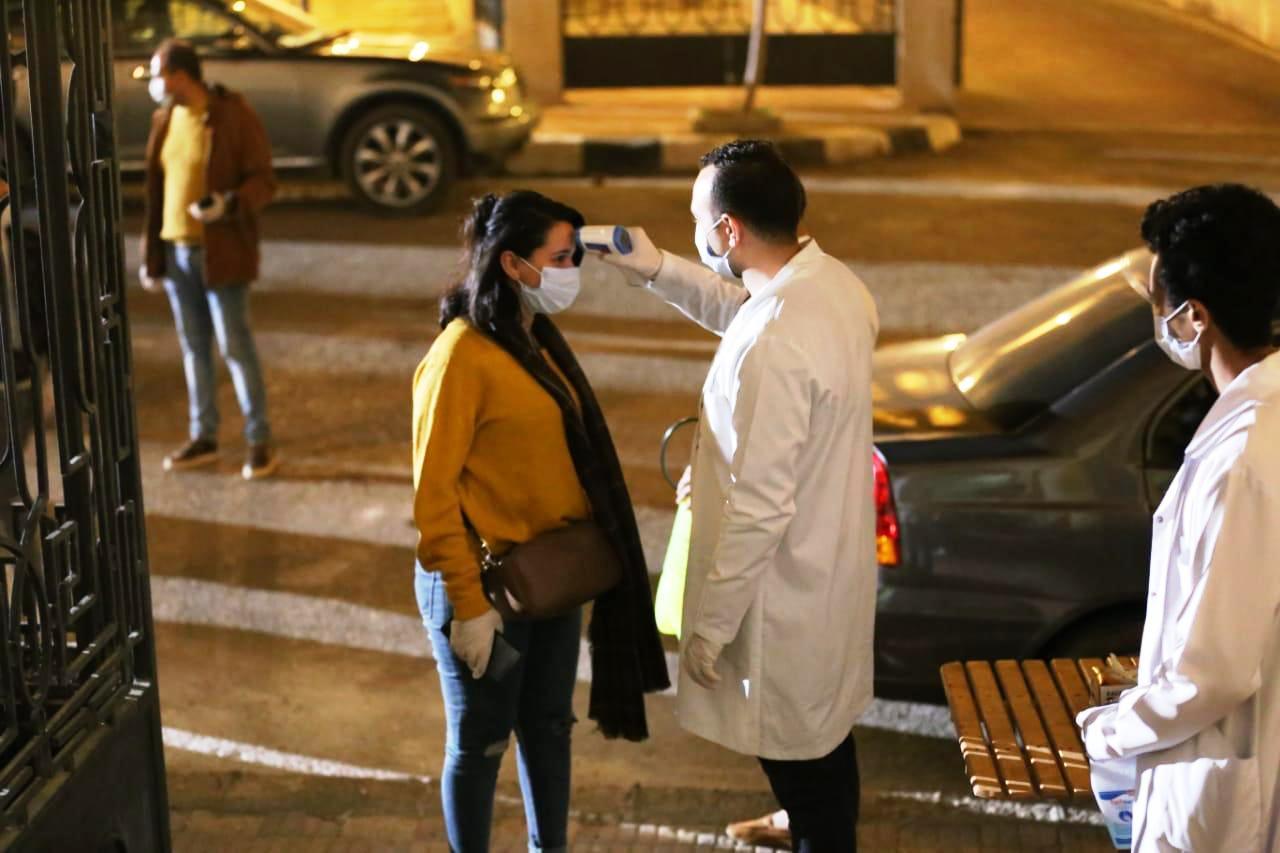 إجراءات احترازية بمدينة الأنتاج الإعلامى (3)
