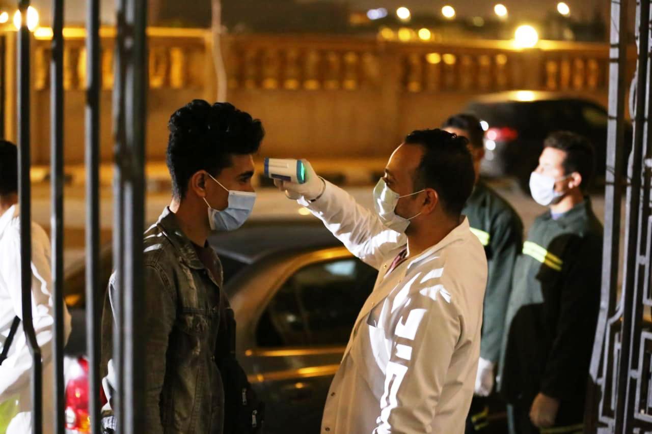 إجراءات احترازية بمدينة الأنتاج الإعلامى (4)