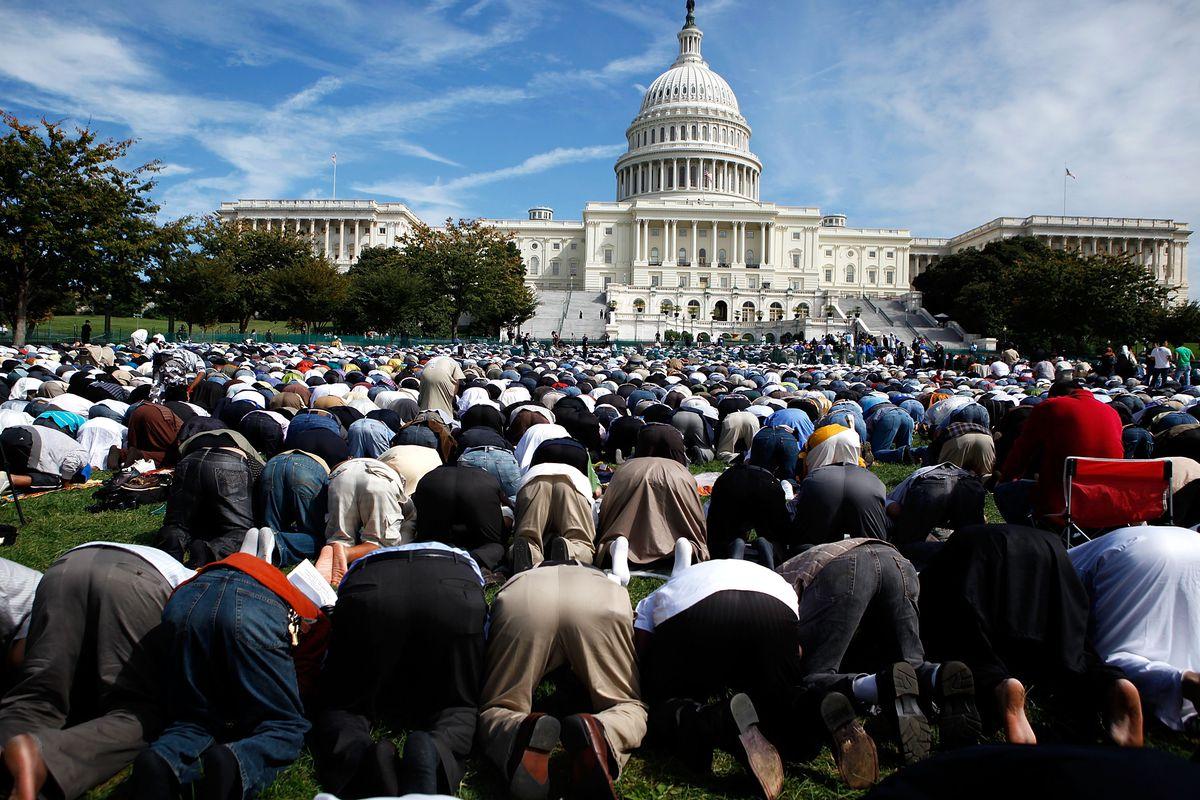 المسلمون فى أمريكا