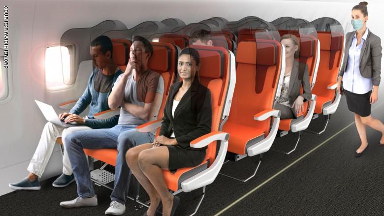 200423152700-coronavirus-airplane-seat-design---glassafe-front-view---aviointeriors