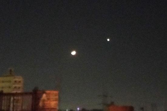 هلال رمضان يقترن بكوكب الزهرة (6)
