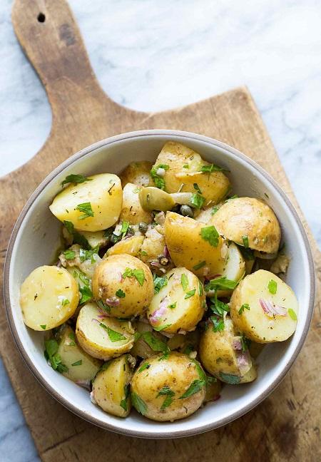 سلطة البطاطس