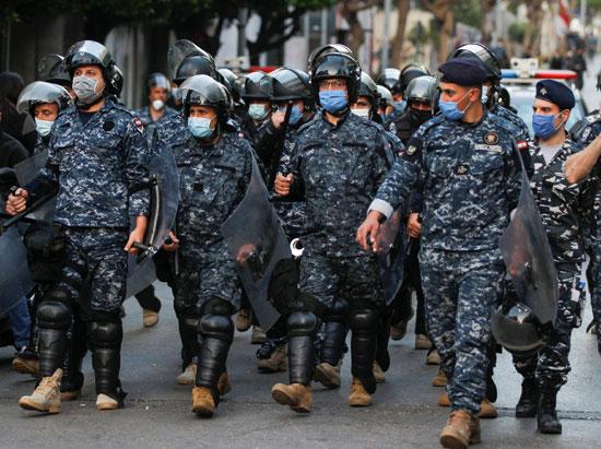 قوات الأمن اللبنانى