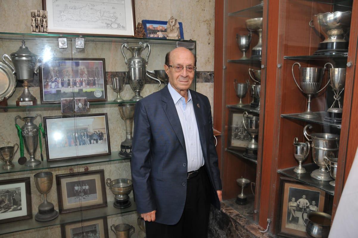 رئيس نادي يونان اسكندرية الحالي