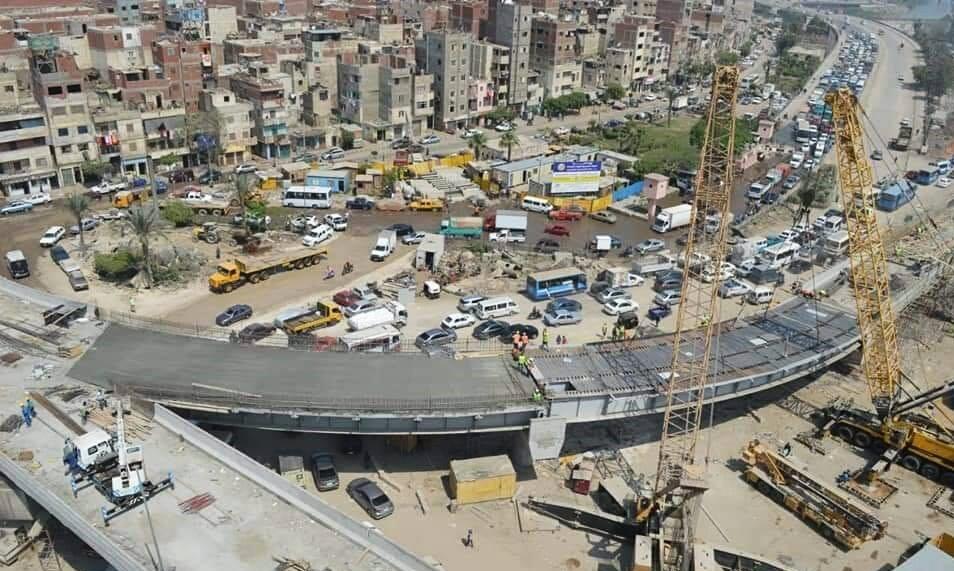 كوبرى الأميرية الجديد بالقاهرة (2)