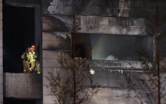 تفحم المبنى (2)