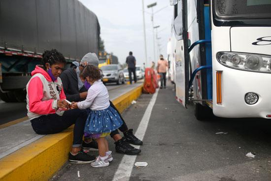 تكدس المهاجرين على الحدود