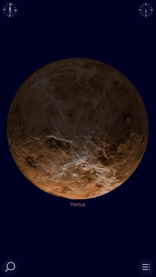 كوكب الزهرة فى اقتران استثنائى هو الأجمل فى القرن الحادي والعشرين مع عنقود نجوم الثريا (6)