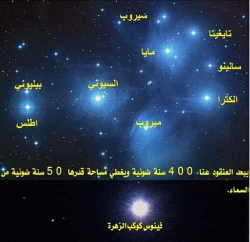 كوكب الزهرة فى اقتران استثنائى هو الأجمل فى القرن الحادي والعشرين مع عنقود نجوم الثريا (8)