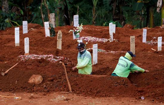 فتح مقابر جديدة