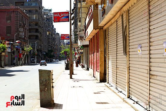 غلق محلات وسط البلد بالقاهرة (3)