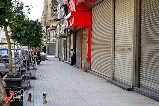 غلق محلات وسط البلد بالقاهرة (6)