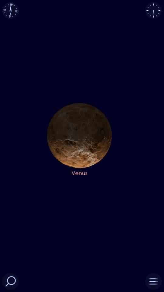 كوكب الزهرة فى اقتران استثنائى هو الأجمل فى القرن الحادي والعشرين مع عنقود نجوم الثريا (5)