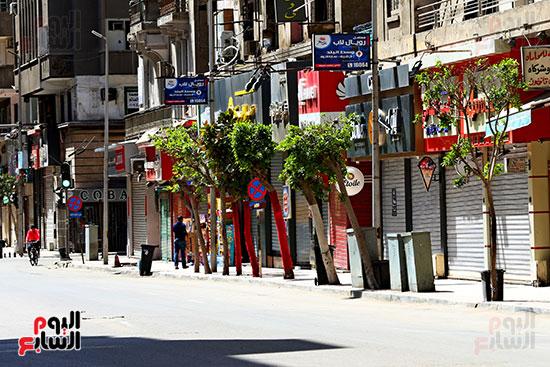 غلق محلات وسط البلد بالقاهرة (4)