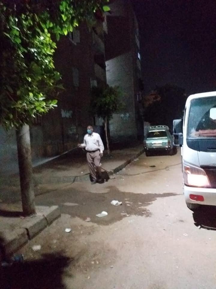 تطهير شوارع البلينا (4)