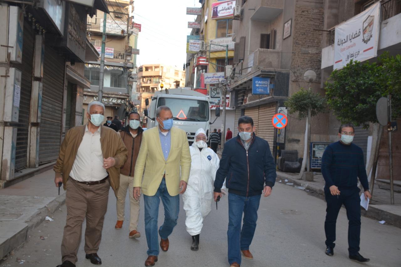 تطهير شوارع القليوبية
