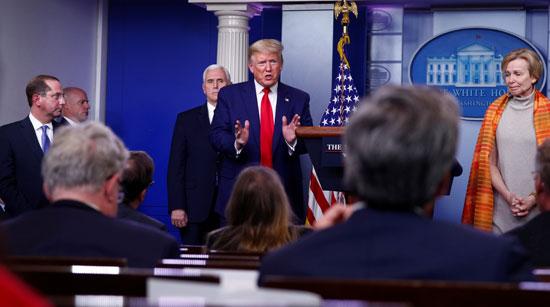 ترامب يرد على الحضور