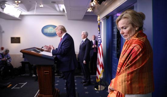 منسقة الاستجابة للفايروسات التاجية في البيت الأبيض الدكتورة ديبورا بيركس